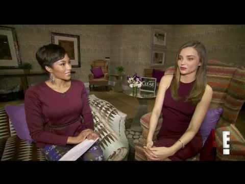Miranda Kerr's Beauty & Fitness Secrets. Interview for E!