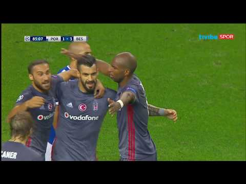 Porto 1-3 Beşiktaş  - UEFA Şampiyonlar Ligi G Grubu Maç Özeti