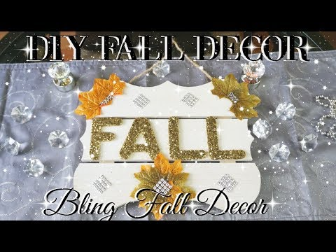 DIY FALL DECOR 2017 | DOLLAR STORE DIY FALL DECOR | DIY HOME DECOR IDEAS