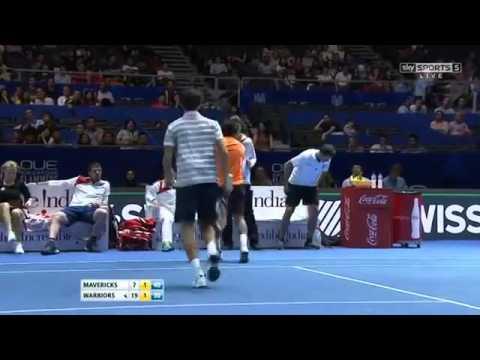 Roger Vasselin & Huey vs Herbert & Paes FULL MATCH HD IPTL Singapore 2015