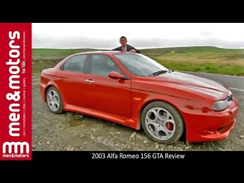 2003 Alfa Romeo 156 GTA Review