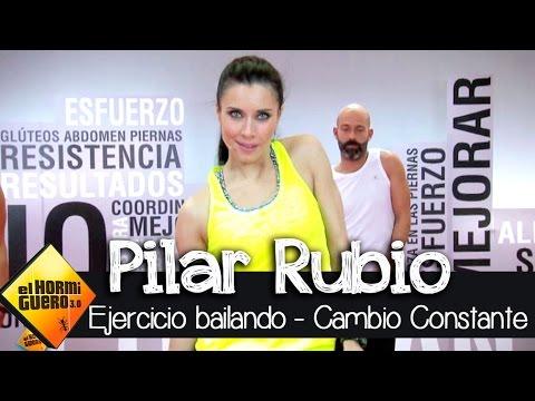 Pilar Rubio I Hacer ejercicio bailando I Cambio Constante