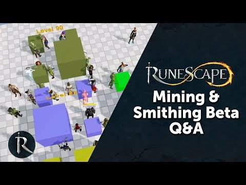 RuneScape Mining & Smithing beta Q&A