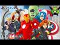 AVENGERS Nederlands Gesproken Tekenfilm Spelletjes Marvel Superhelden - Disney Infinity 2.0 NL