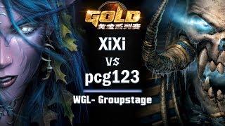 ► WarCraft 3 - XiXi (NE) vs. pcg123 (UD) - WGL Groupstage