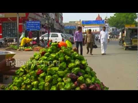 Roadside Vegetable Shop, Ajmer
