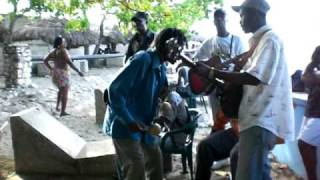 Haiti Twoubadou Live At The Beach - Bouzin Au Cayes