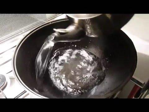 Чем очистить казан в домашних условиях