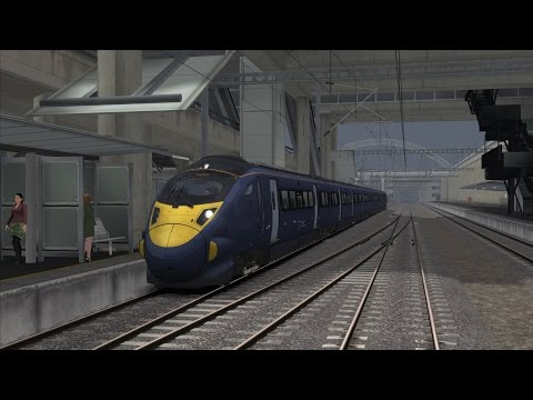 Game: Train Simulator 2014 http://store.steampowered.com/app/24010/ -Route: Portsmouth Direct Line http://store.steampowered.com/app/65218/?snr=1_5_9__405 -...