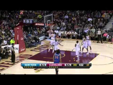 NBA New York Knicks Vs Cleveland Cavaliers Highlights Apr 12, 2013 Game Recap