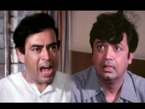 Sanjeev Kumar & Deven Verma Best Comedy Scene - Angoor