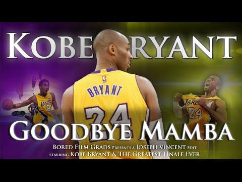 Kobe Bryant - Goodbye Mamba