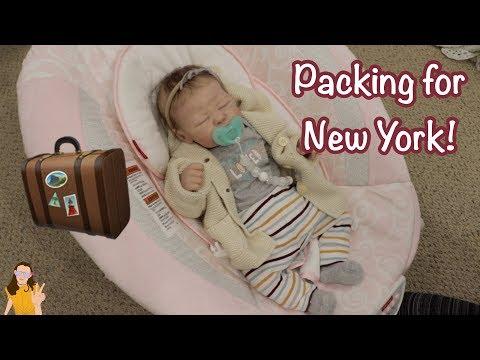 Packing Reborn Baby Quinylnn for New York! | Kelli Maple