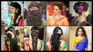 Easy And Fashionable Hairstyles For Sarees   Hair Style Ideas   Lifestyle   Fashionlady.in