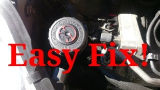 How To Fix A Power Steering Problem On A Peugeot 407 | Have Intermittent Hard Steering | Easy Fixes