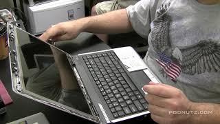 Laptop Repair Courses-Replace Cracked Screen Aspire 3680