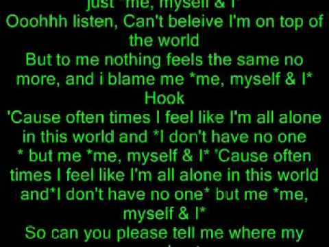 Akon - Me, Myself & I Lyrics | MetroLyrics