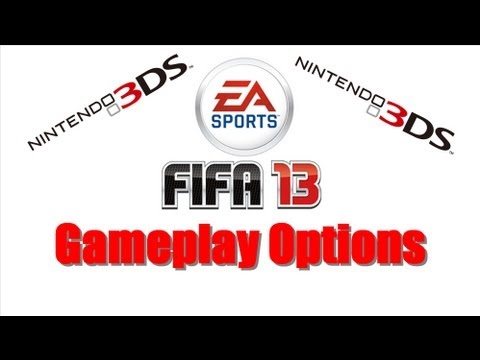 Fifa 13 Nintendo 3DS + Gameplay Options