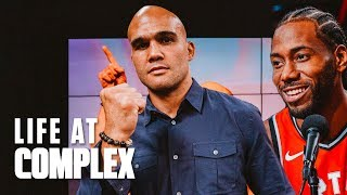 UFC's Robbie Lawler Is All Business Like Kawhi Leonard! | #LIFEATCOMPLEX