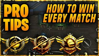 HOW TO WIN EVERY MATCH IN PUBG MOBILE! Best Tips & Tricks To Win And Get More Kills In PUBG MOBILE!
