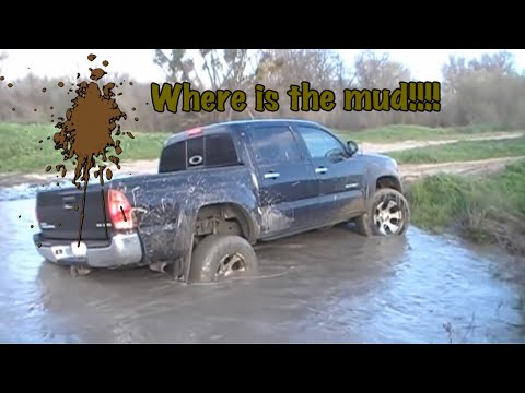 2008 Tacoma 4x4 off road Mudding