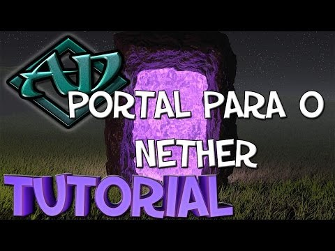Tutorial Minecraft #1: Portal para o Nether (sem ser preciso diamante)