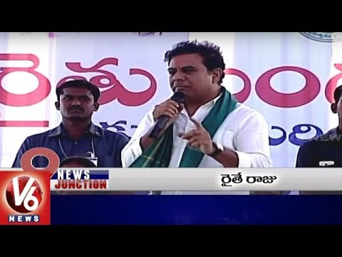 9PM Headlines | TRS Ministers Slams Opposition | Sudden Rains | Congress Bus Yatra | V6 News