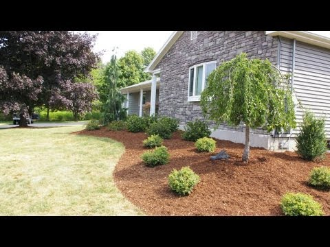 Oxford CT Landscape Designer | Front Yard Landscape Design Ideas | Ranch Landscaping Ideas