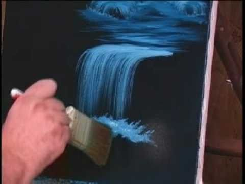 Youtube How To Paint Water With Acrylics
