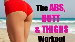 15-Minute Abs, Butt & Thighs Workout (Abs workout, Butt Workout, Thighs Workout) No Equipment Needed