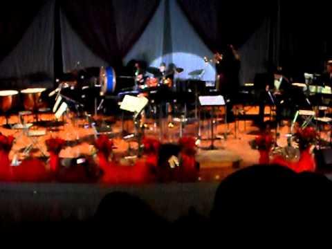 ACCADEMIA ( NU MARE E MUSICA) SAGGIO DI NATALE 2010 ESIBIZIONE DI BATTERIA IL PICCOLO IVAN