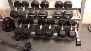 XMARK 3 Tier Dumbbell Rack unbox and assembly