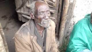 Aend Ethiopia A 128 -year-old Ethiopian who believed to be the world's oldest man.