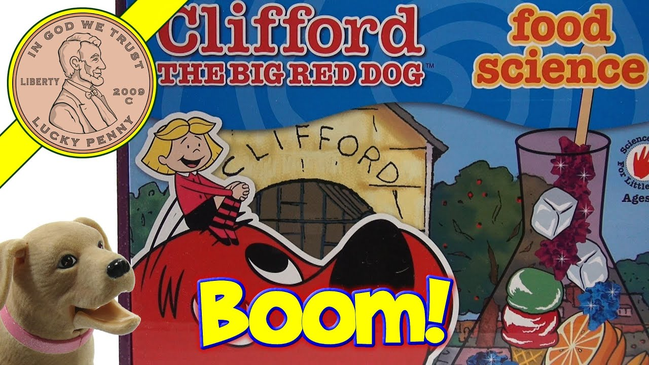 Butch knows clifford the big red dog food science kit the for Big red dog food