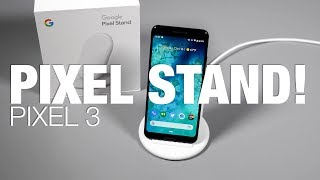 Pixel 3's Pixel Stand Overview and Feature Tour!