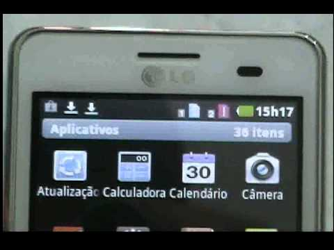 LG OPTIMUS L3 DUAL SIM (E405F) - Videos DivX. Rádio Virtual. MP3 Player. Sensor de Proximidade