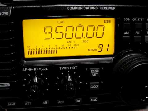 Trans World Radio Africa 9500 kHz. 10.2.2011.