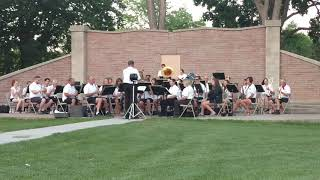 American Patrol by the Gering City Band