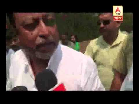 Mukul Roy reacts to protests by Bhumi UChhed pratorodh committee.