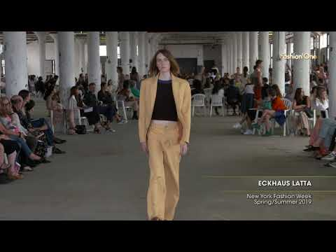 ECKHAUS LATTA New York Fashion Week Spring/Summer 2019