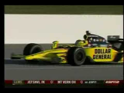 Sarah Fisher Kentucky Speedway 2008 for Dollar General ! Video