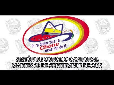 Sesión de Concejo - 29 SEP 2015