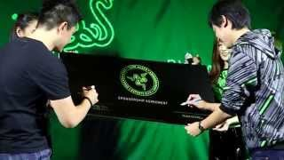 Touch. Play. Stay. | RazerStore Bangkok, Thailand