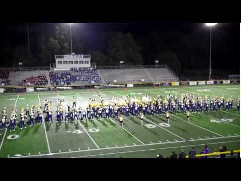 "Jackson High School ""Purple Army"" Band, Massillon, OH  - Part 2"