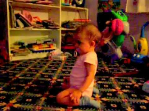Angelina dancing again 9 months old.MOV