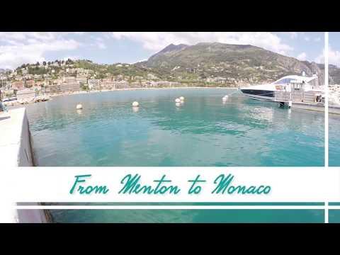 Menton, Monaco Monte Carlo - HD - GoPro -  Travel - Road Trip