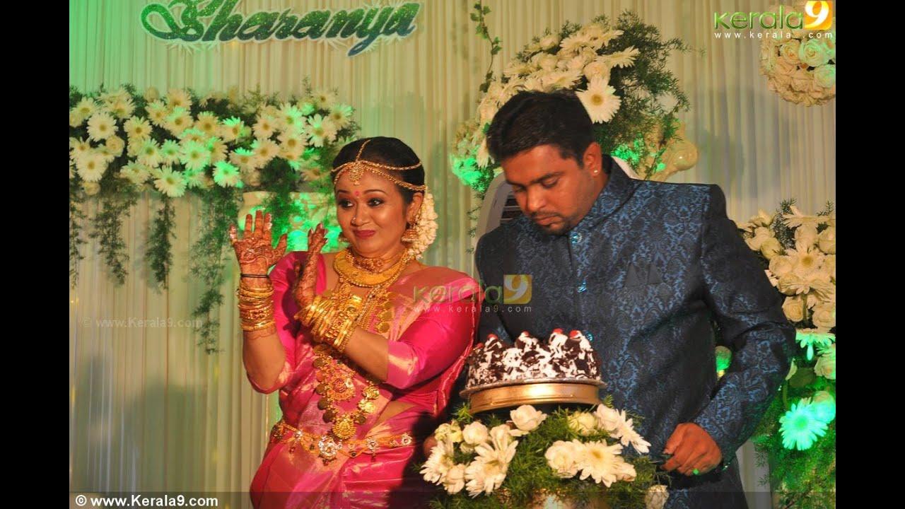 Actress Saranya Sasi Wedding Reception Gallery - YouTube