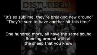 Disturbed - Sons Of Plunder Lyrics (HD)