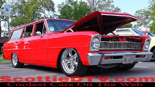 1966 Chevrolet Chevy II Wagon Hot Rod  2018 NSRA Street Rod Nationals South