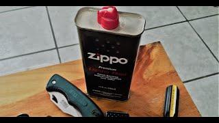 Como cambiar la mecha de un encendedor Zippo
